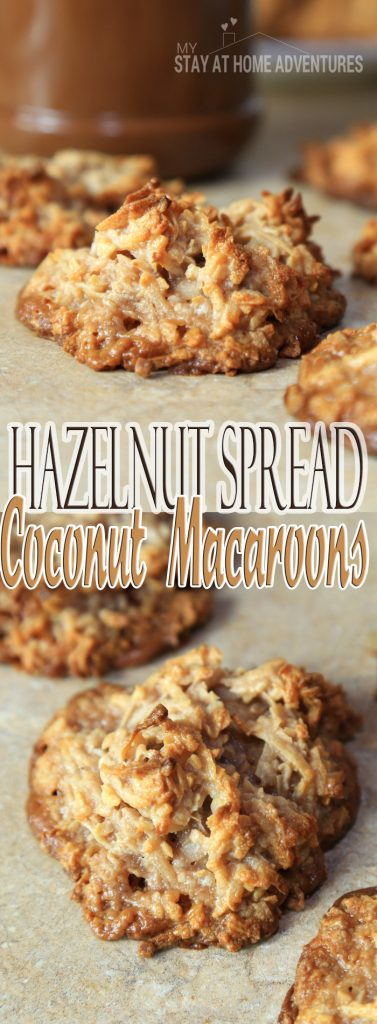 Besitos de Coco Con Nutella / Hazelnut Spread Coconut Macaroons - A simple and delicious recipe with your favorite hazelnut spread your family will love!