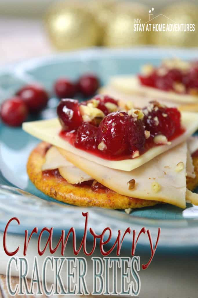 Learn how simple and delicious these Cranberry Cracker bites are! Full step by step instruction with photos all here!