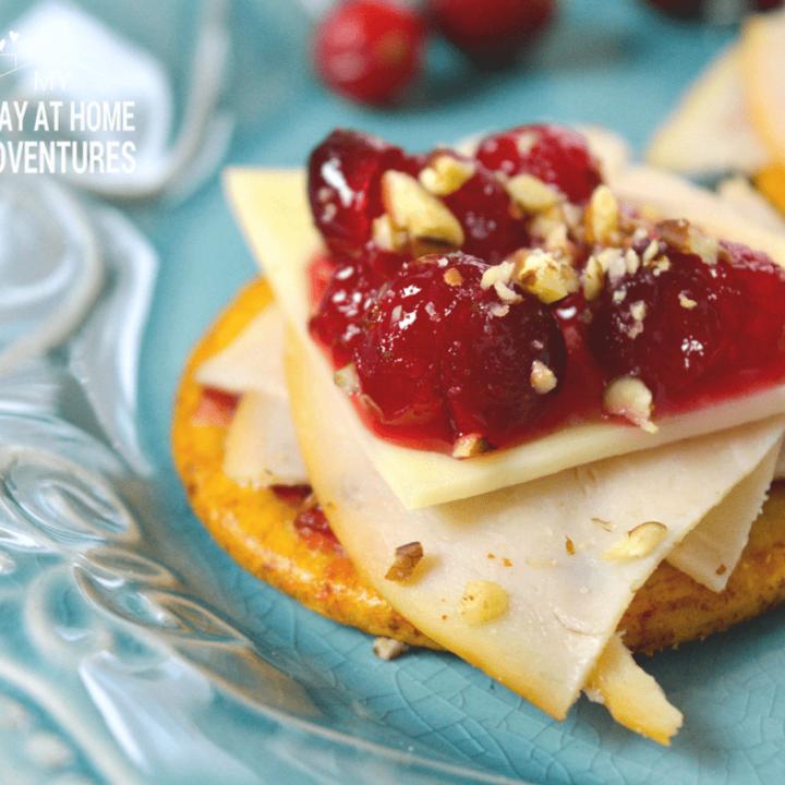 Cranberry Cracker Bites Recipe