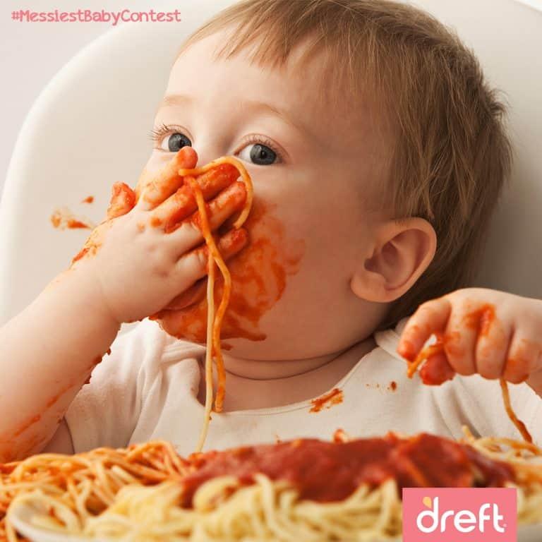 Baby E Messy Adventures! #messiestbabycontest