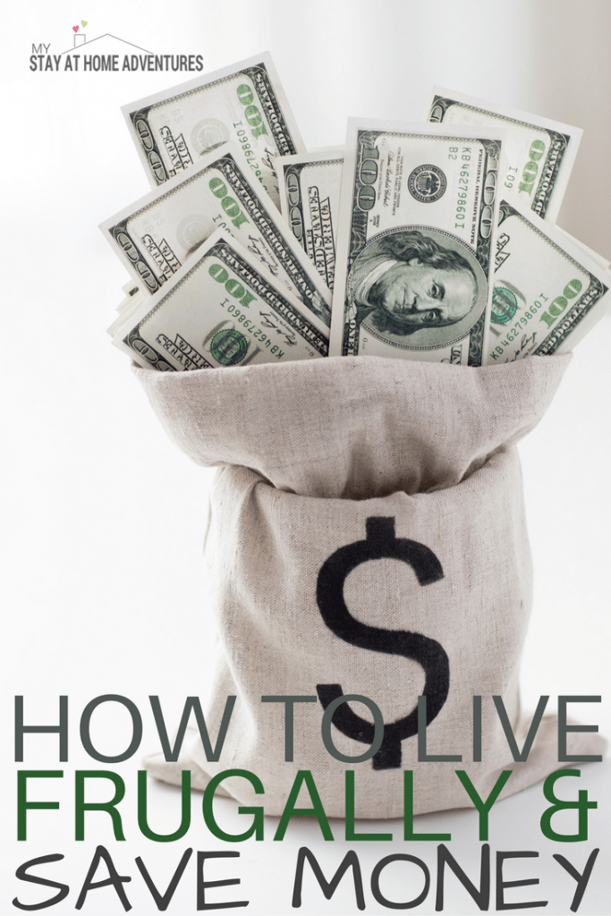 With the economy getting better you still need to live frugally and save money, my friends! Learn over 30 realistic tips and ideas to help you live a frugal life and save money in the process starting today.