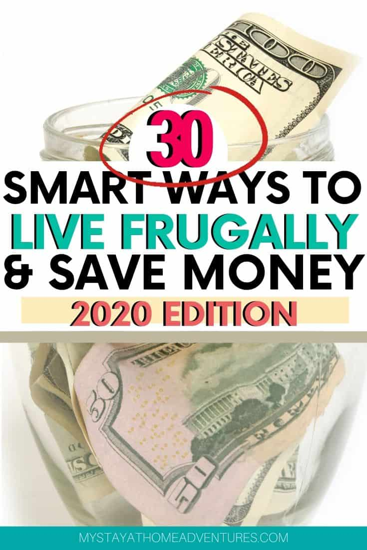 To live frugally is to live a simple life and save money no matter the income. Learn how you can live frugally and save your money starting today. via @mystayathome