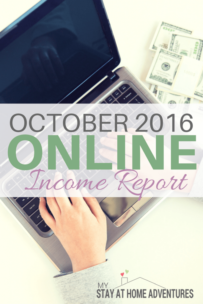 November is here and soon the year will be over. Read where I am with my blogging goals and how much my we made. Read our October 2016 Online Income Report.