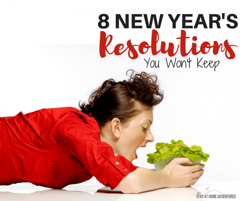 8 New Year's Resolutions You Won't Keep
