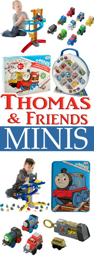 I have 3 boys and they love Thomas and Friends and for this reason we are going to give you the ultimate Thomas and Friends Minis guide and much more!