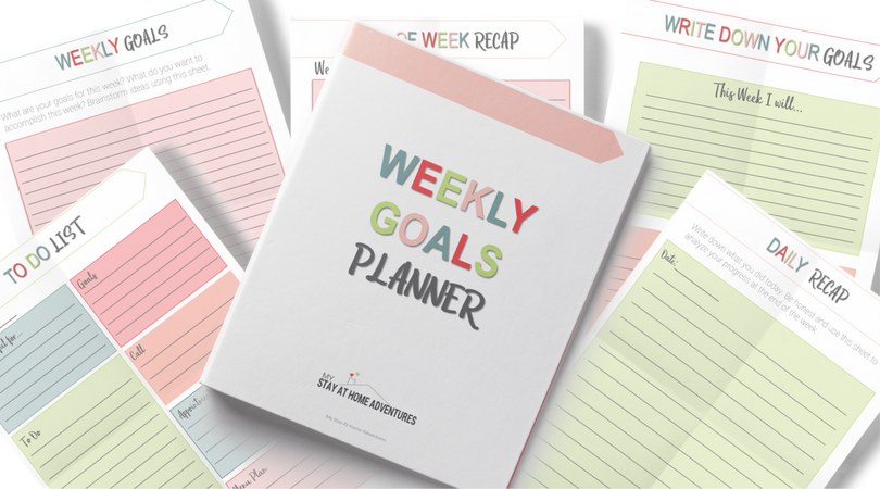 Weekly Goals Planners is free to download.