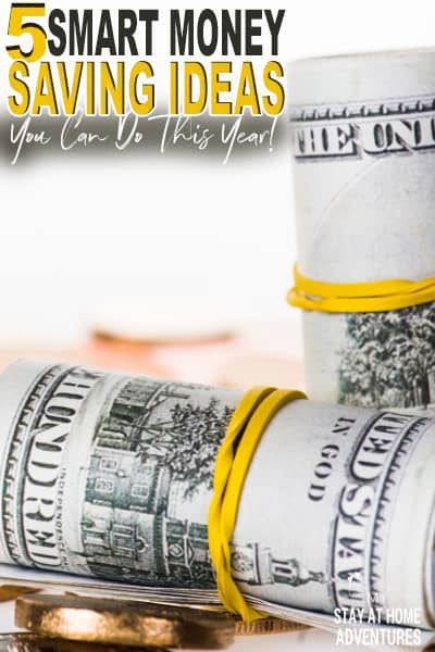 Tired of trying to save money without succeeding? Try these 5 money saving ideas that will increase your savings in no time!