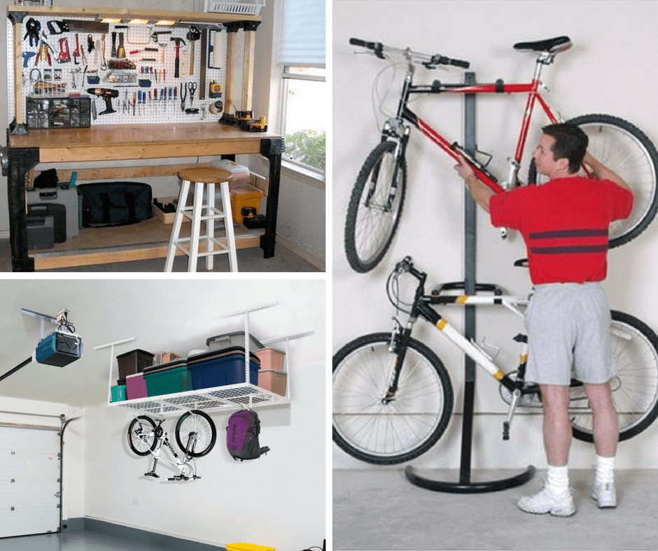 The best Garage Organization Ideas are here.