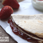 Peanut Butter & Jelly Quesadilla