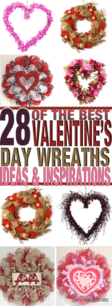 Looking for a new wreath but can't seem to get inspired or get ideas? Check out these 28 Valentine's Days wreaths ideas and inspirations to heal you out.
