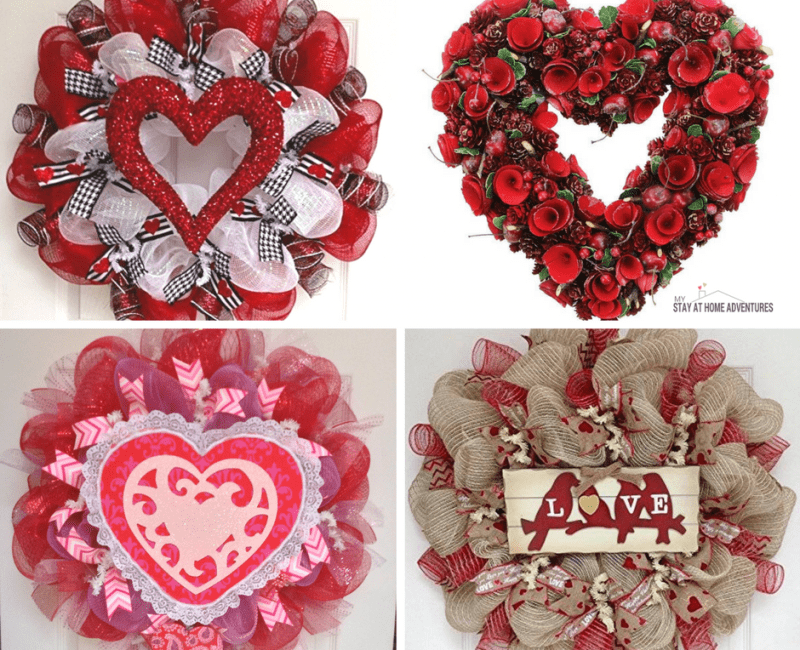 Valentine's Day Wreaths Ideas and Inspirations