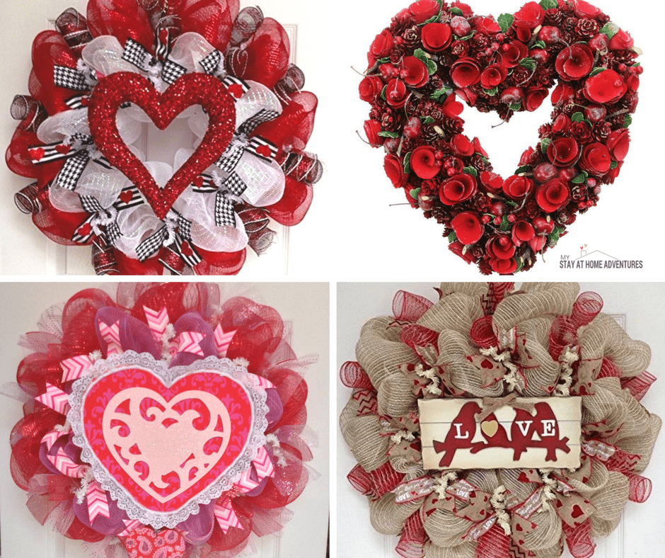 Looking for a new wreath but can't seem to get inspired or get ideas? Check out these 28 Valentine's Days wreath ideas and inspirations to heal you out.