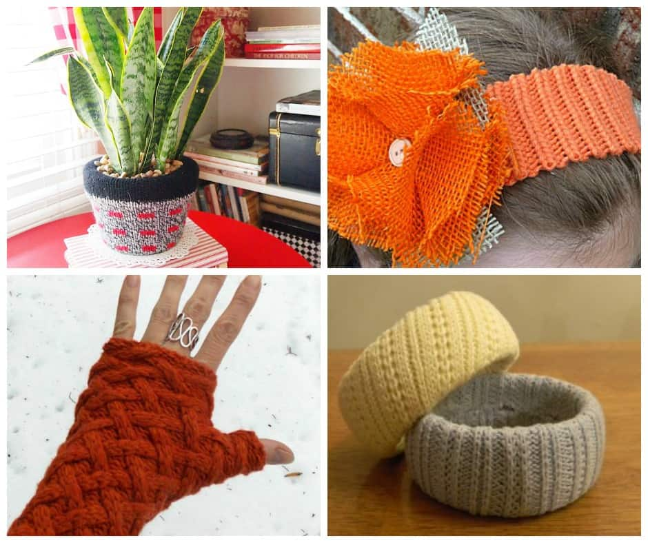 15 Ways to Upcycle Old Sweaters