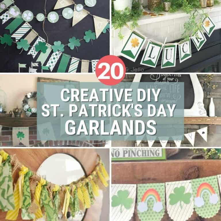 20 Creative DIY St. Patrick's Day Garlands That Will Impress You