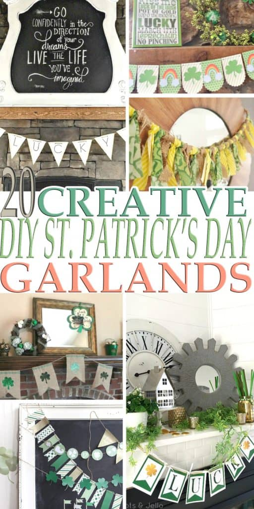 St Patrick's Day is just around the corner and if you are looking for a DIY St. Patrick's Day Garland we got 20 Creative DIY St. Patrick's Day Garlands.