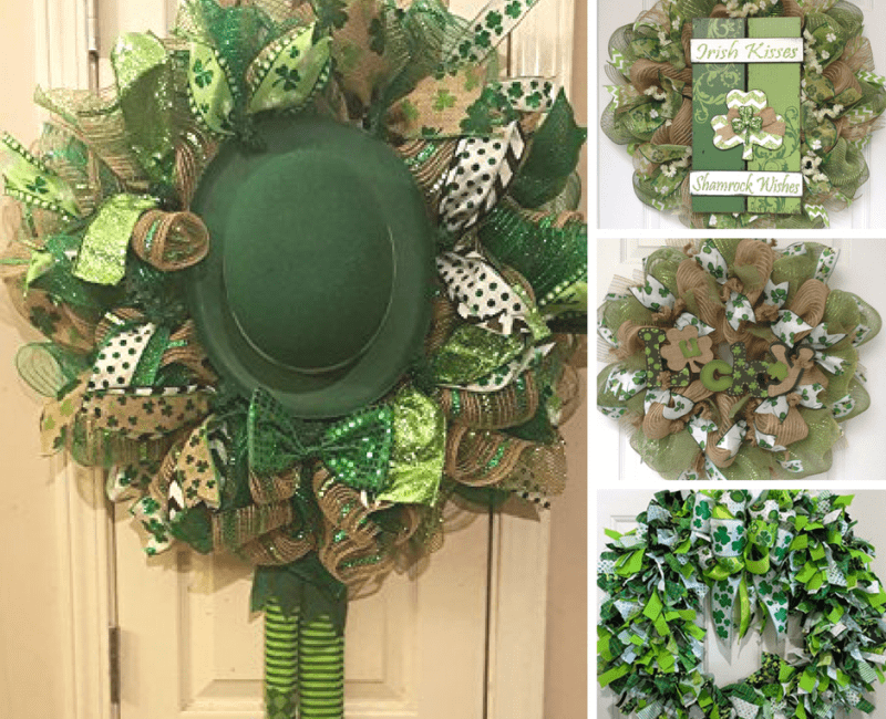 20 Of The Best St. Patrick's Day Wreath Ideas & Inspirations