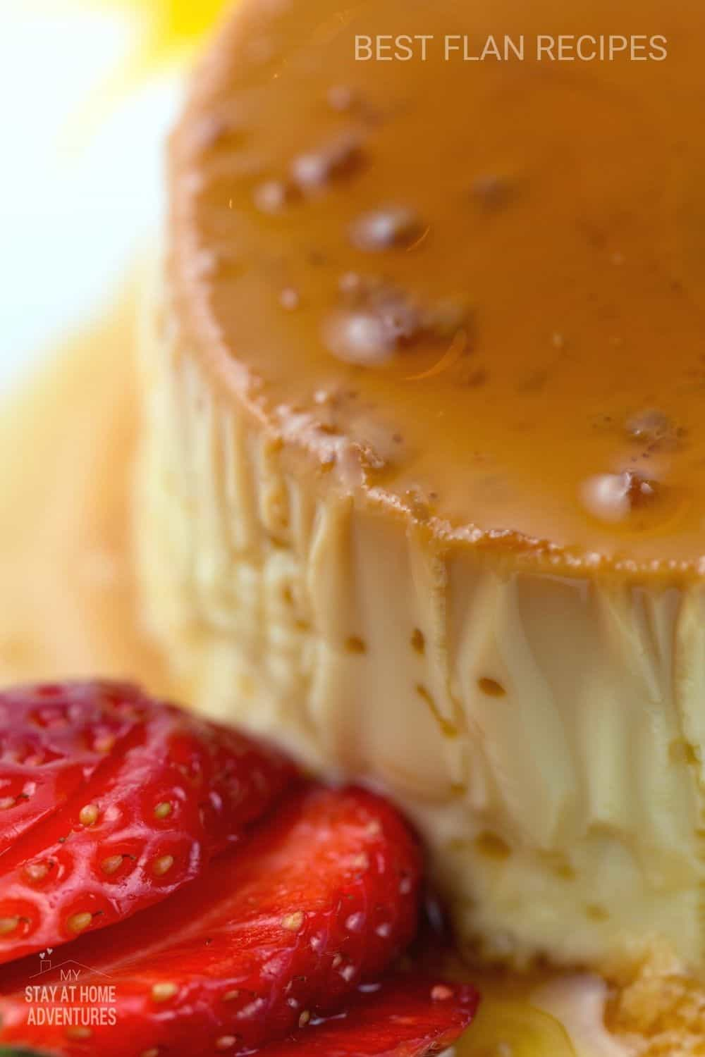 Get your favorite flan dessert in every flavor possible! This collection has the top ten flan recipes, plus all you need to know about the history behind this dish. #flan #flanrecipes via @mystayathome