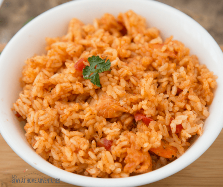 Puerto Rican Instant Pot Chicken and Rice