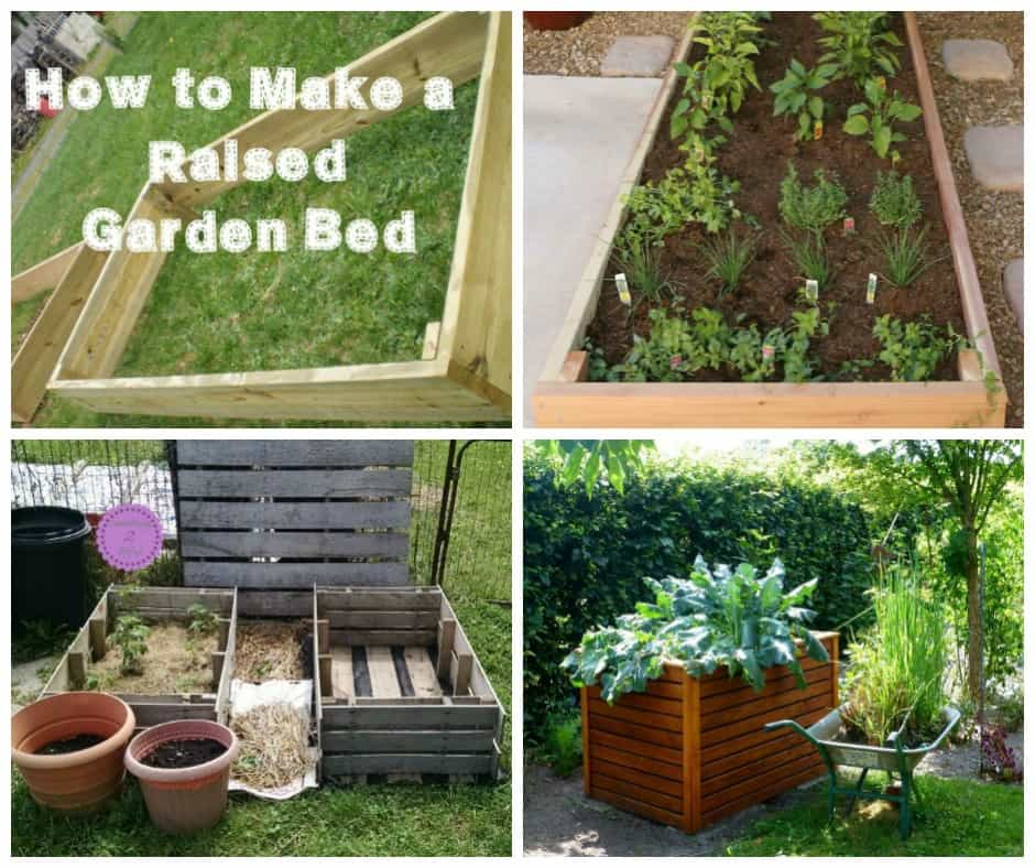 raised garden bed ideas