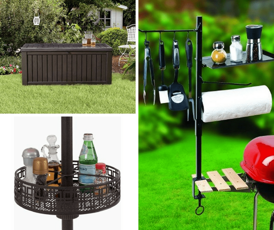 Simple, yet amazing backyard organization ideas for this season.