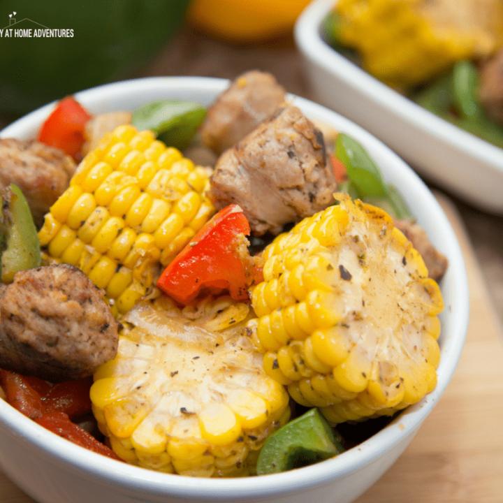 Italian Sausage and Corn Skillet Recipe