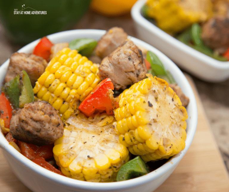 Italian Sausage and Corn Skillet