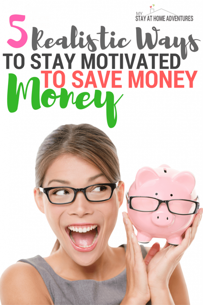 Finding ways to stay motivated to save money is not as hard as you might think. Check out these 5 ways to help you keep motivated and help you reach your financial goals. Learn what they are and how you can start practicing them today!