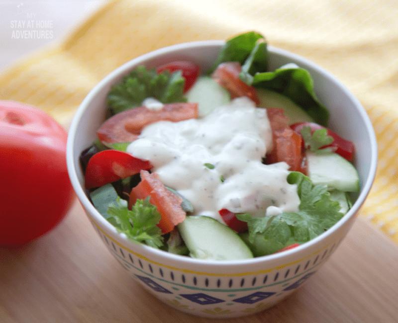 Vegetable Garden Salad Fresh From Your Garden