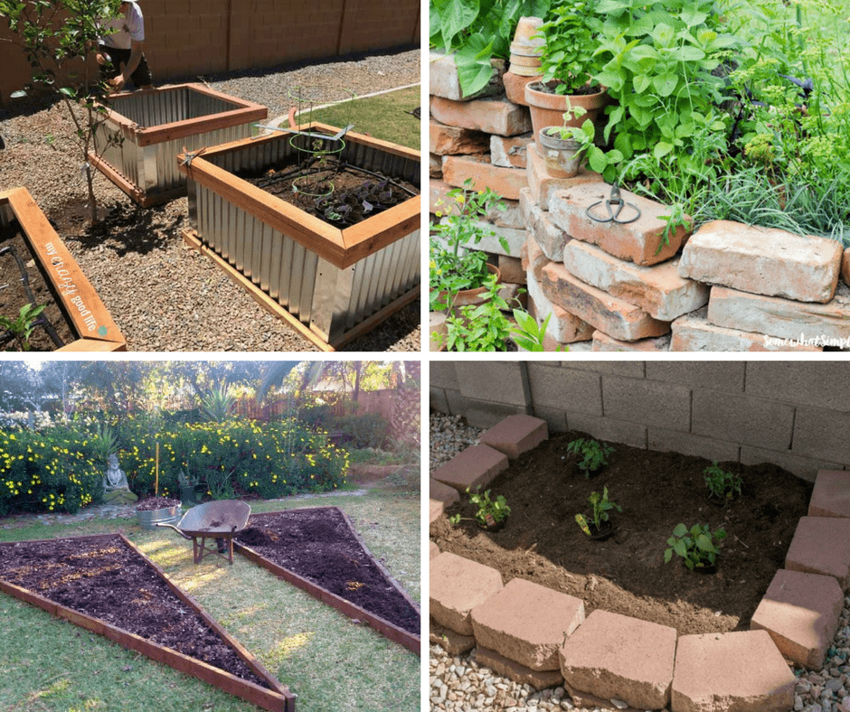 4 DIY Raised Vegetable Garden Beds