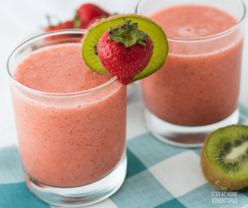 Looking for a simple and delicious Strawberry Kiwi Slush Recipe? Check out this recipe that will leave your refresh and wanting more!