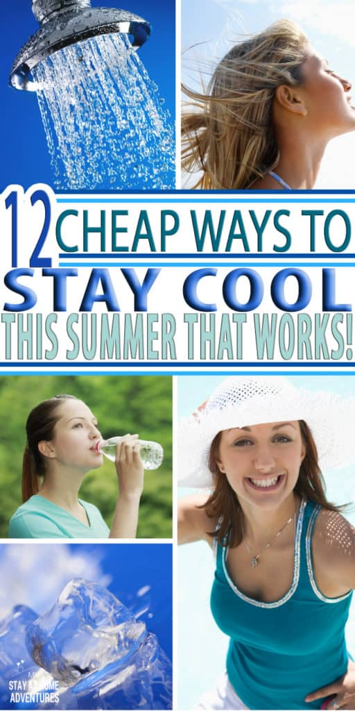 Summer is here and the high temperatures will be here too! These 12 cheap ways to stay cool this summer will help you to stay cool and save your money.