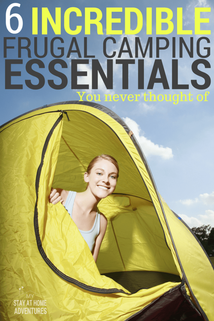 Camping this summer? Learn how you can save money with these frugal camping essentials that will save you money on your next family camping trip.