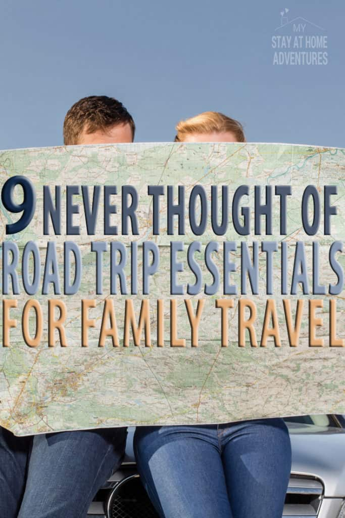 Let's talk road trip essentials for family travel that every family needs to think of when planning a road trip. These 9 never thought of road tips essentials are what every family no matter it size should bring.