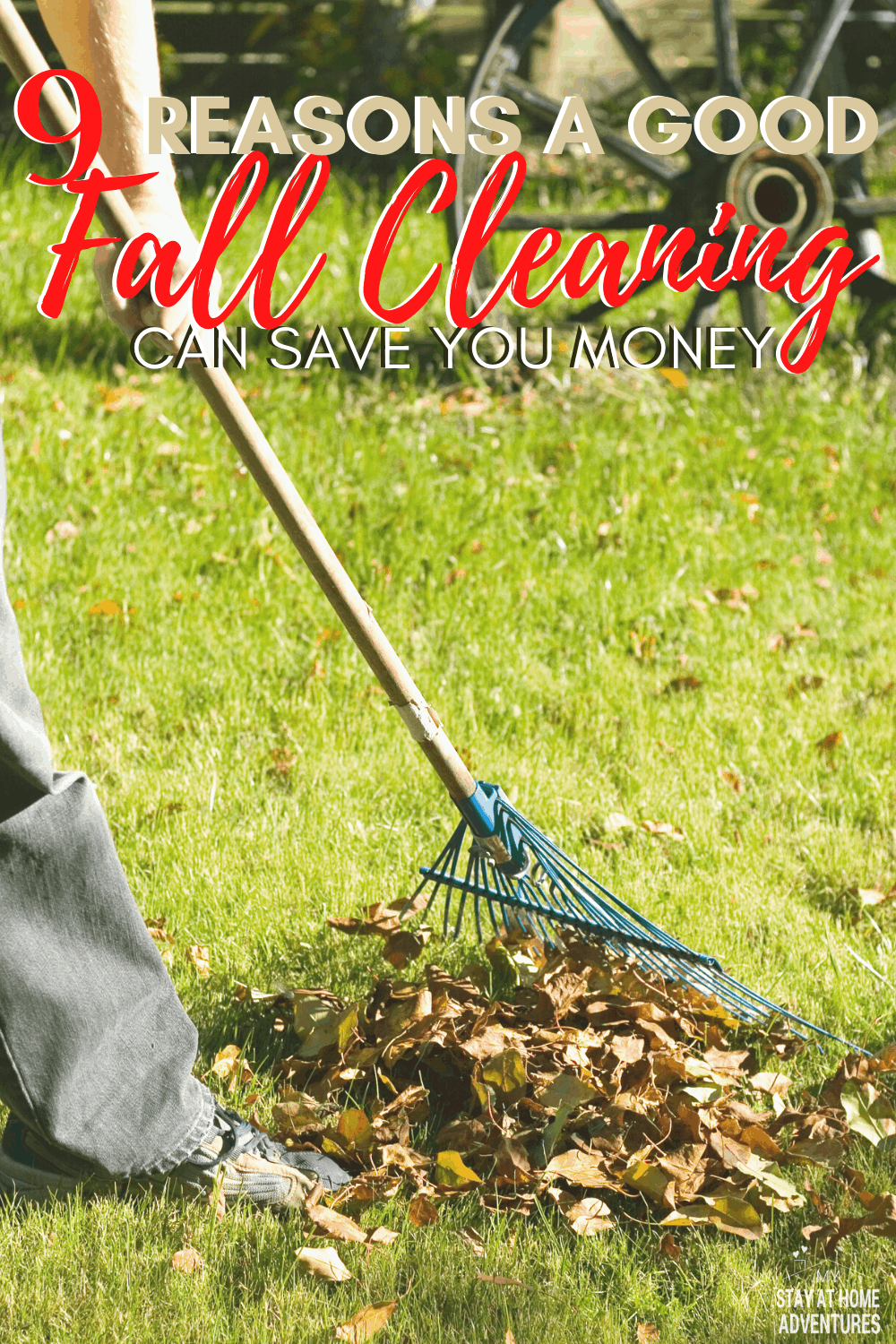 Fall cleaning and saving money go hand in hand and to prove it here are nine ways to clean your home this season and save money at the same time. Download the free planner and start cleaning and saving. via @mystayathome