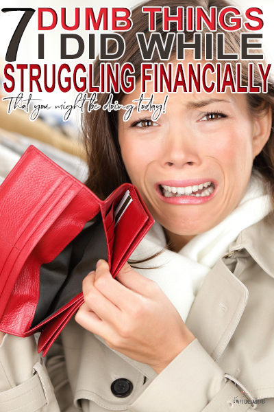 Act like this way about your finances and you are not wealthy, you are broke. Learn how to avoid this self destructive behavior are and why change them.
