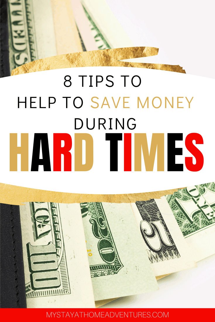 Can't focus on finances right now? Learn 8 tips to help save money while focusing on other things that helped us grow our savings with little effort. via @mystayathome