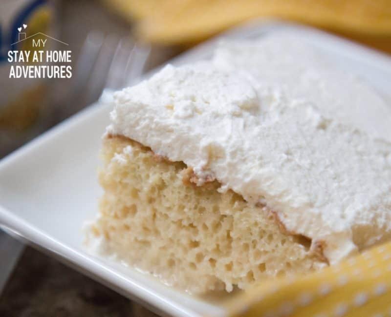 Tres Leche Cake Recipe