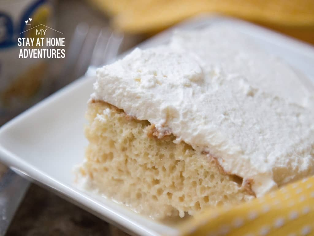 Cool Tres Leches Cake Recipe My Stay At Home Adventures Funny Birthday Cards Online Inifodamsfinfo