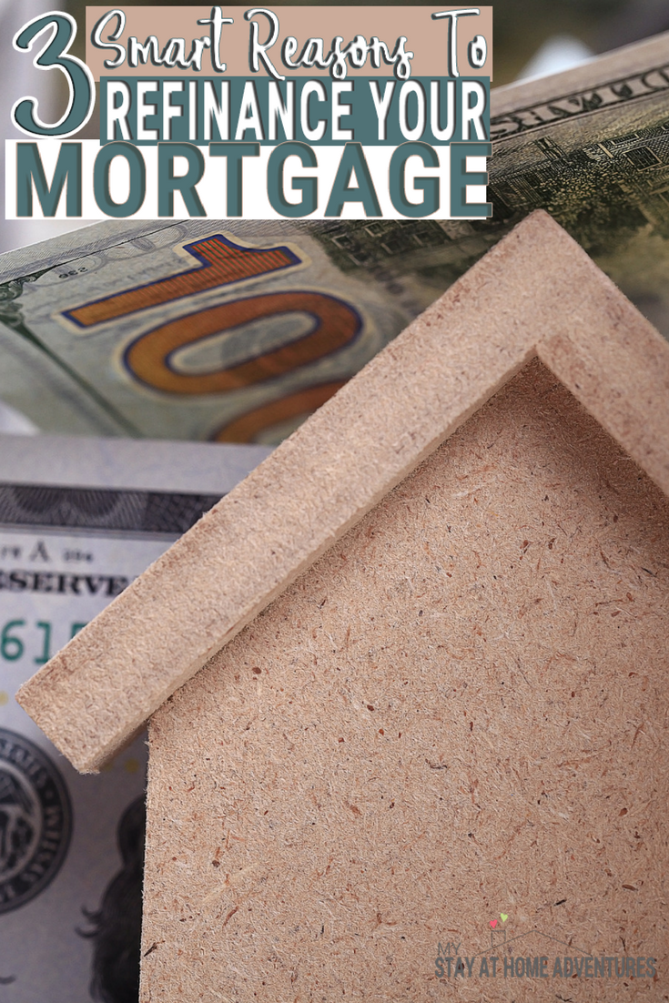Mortgage rates are on the rise every now & then. Refinancing your mortgage is a wise move and you will learn why these 3 smart reasons will help you.