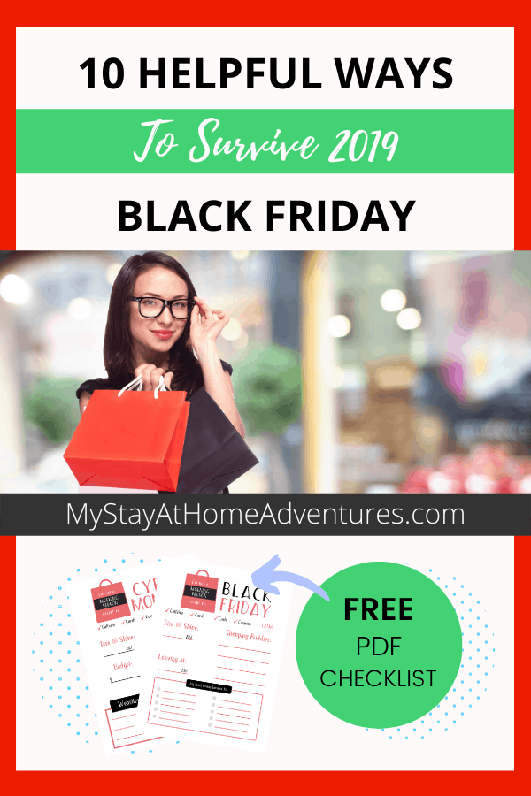 10 Helpful Tips To Survive Black Friday Shopping via @mystayathome