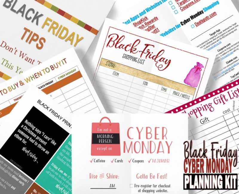 Free Black Friday Cyber Planning Kit Today!