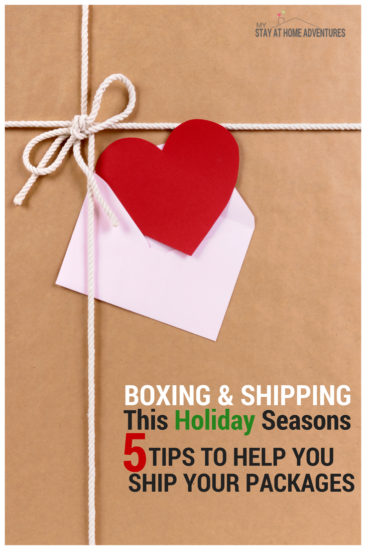 Boxing and packaging this holiday season? Check out these 5 important tips to make sure your box arrives safe to its destination.