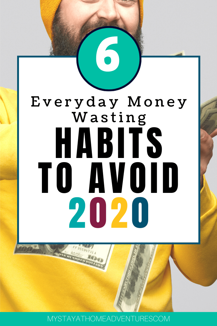 There are many everyday money-wasting habits we do that cost us tons of money. You don't even realize how bad these habits affect our wallet, until now. via @mystayathome