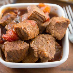 Instant Pot Carne Guisada / Puerto Rican Beef Stew Recipe