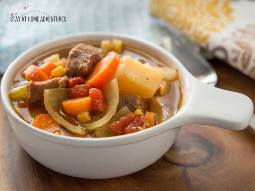 Looking for a delicious and simple Puerto Rican recipe? Check out this Instant Pot Sopa de Carne recipe or Puerto Rican Beef Soup recipe that you and your family are going to love. Don't have an Instant Pot check out our slow cooker recipe!