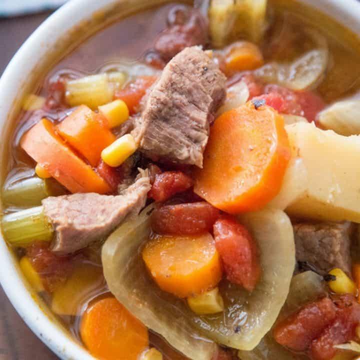 Instant Pot Sopas de Carne de Res