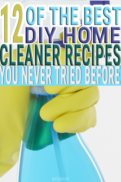 Clean your home with these DIY home cleaning recipes and avoid dealing with harsh chemicals. Download the free printable and enjoy these DIY home cleaners.
