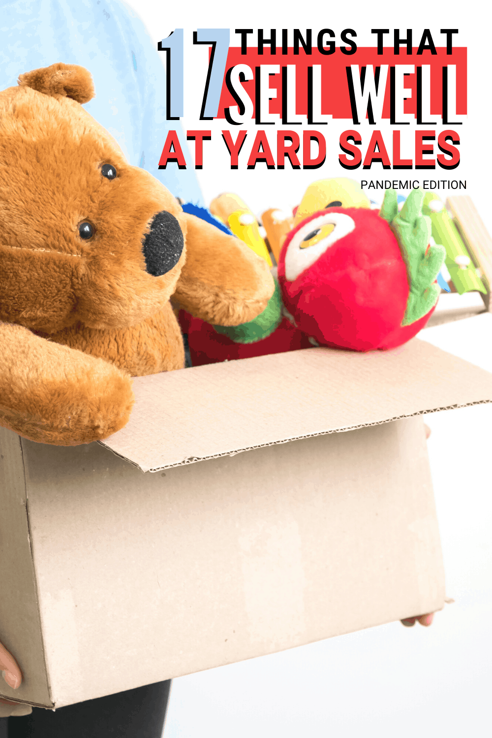 Yard sale season is here and if you want to find things that sell well at yard sales then you need to check out this list and make money for sure. #yardsale #howto #makemoney via @mystayathome
