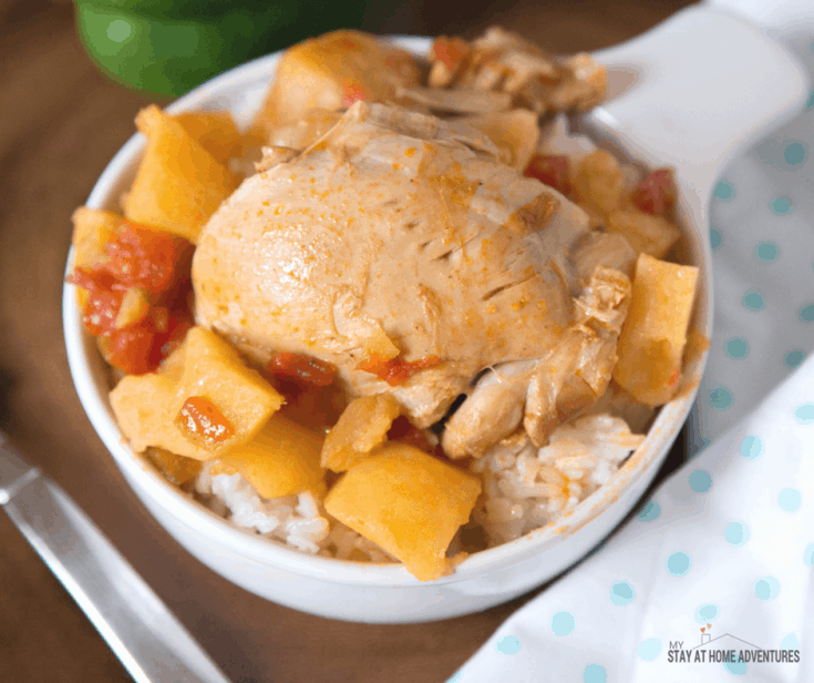 Instant Pot Puerto Rican Pollo Guisado Or Chicken Stewed