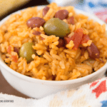Instant Pot Arroz Con Habichuelas / Puerto Rican Rice and Beans